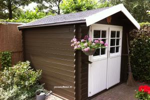 tuinhuis Allback lijnolieverf - josvanuffelen.nl